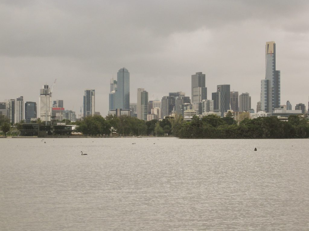 Melbourne from Albert Park