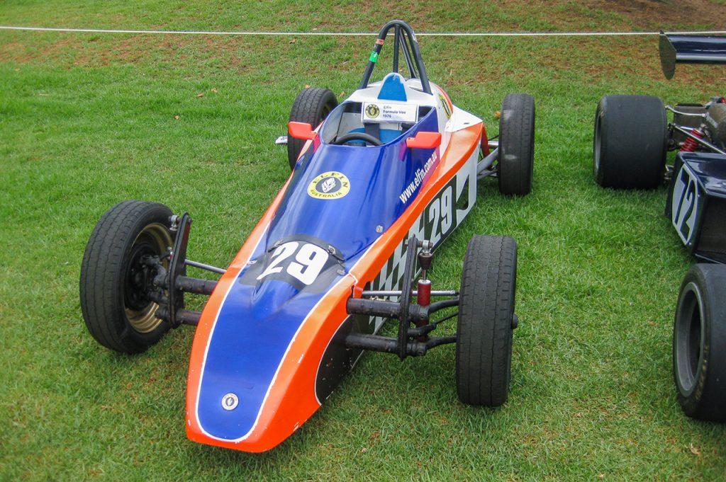 Vintage Formula 1 Car at Melbourne GP