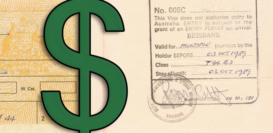 Australia Working Holiday Visa Fees in 2020