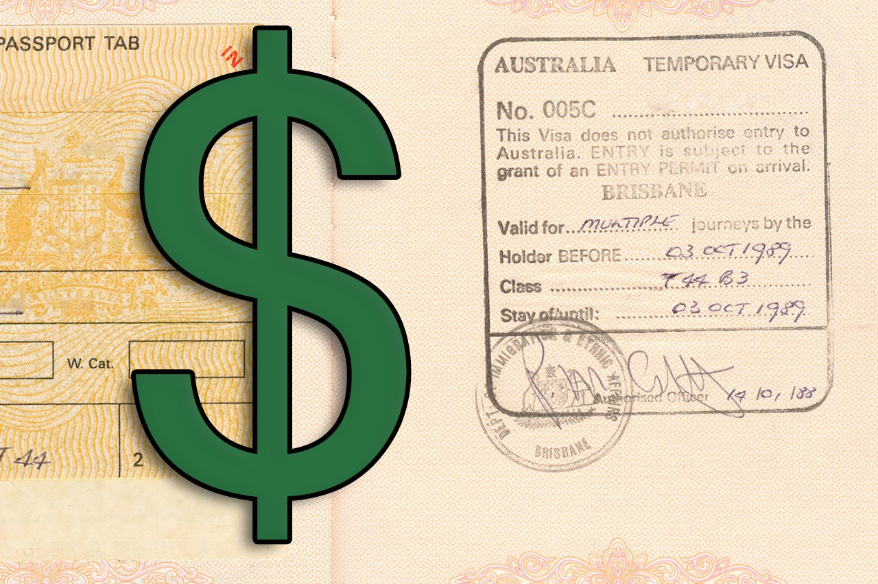 What are Australian Visa Fees in 2018?