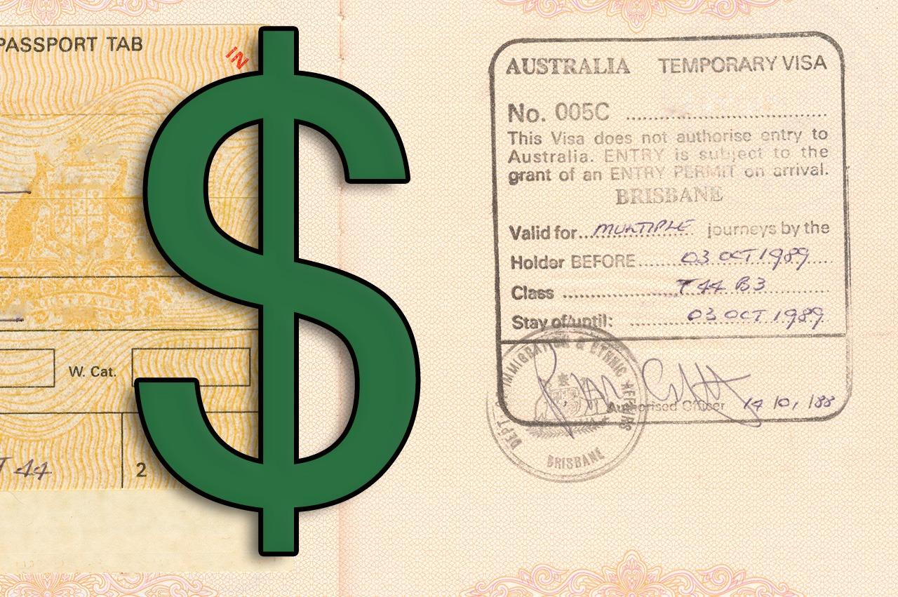 What are Australian Visa Fees in 2018?