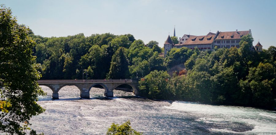 Seeing Laufen Castle and the Rheinfall, Europe's Largest Waterfall
