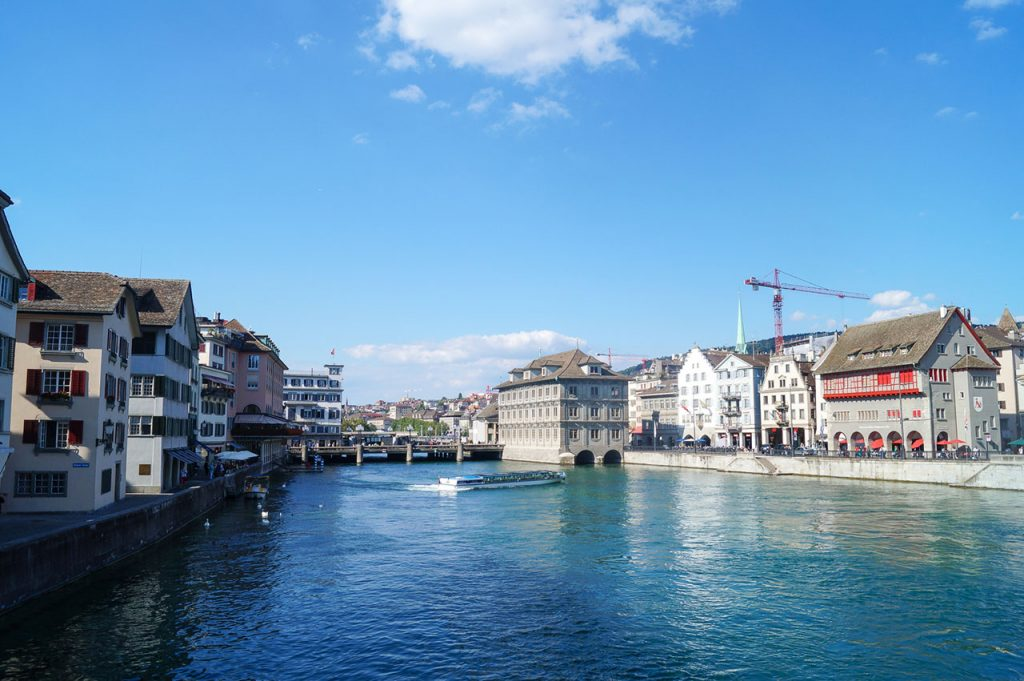 The first sight of my trip to explore Zurich in a day