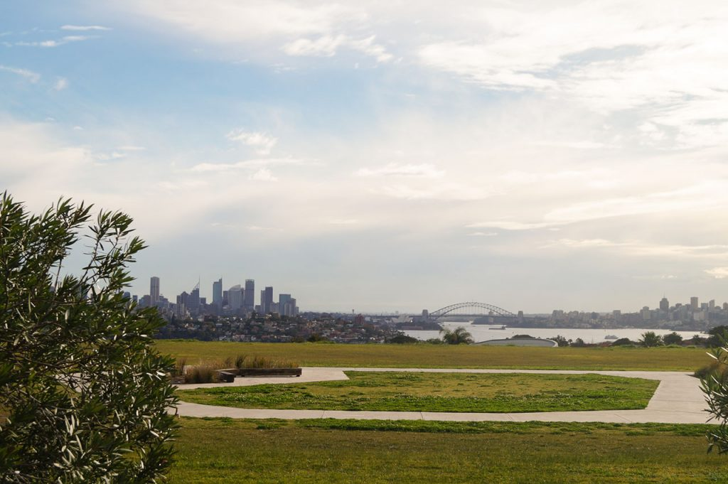 Sydney from a distance