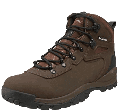 brown columbia hiking boots - newton ridge 2