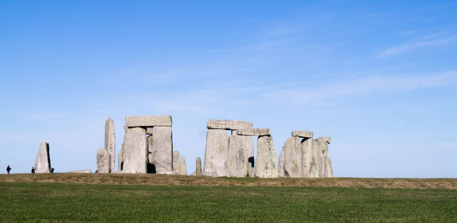 A Spring Day at Stonehenge