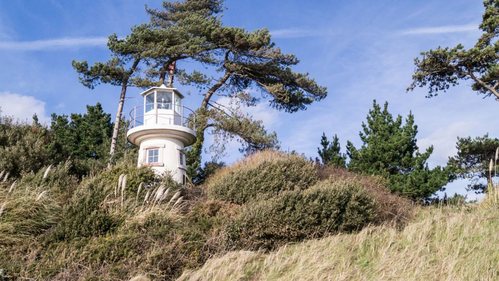 Lepe Lookout Lighthouse