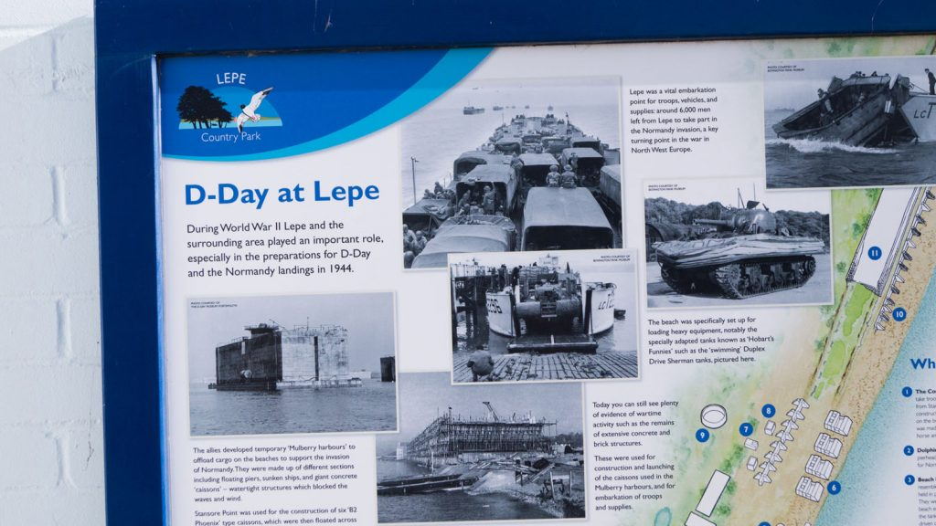D-Day at Lepe Beach Plaque