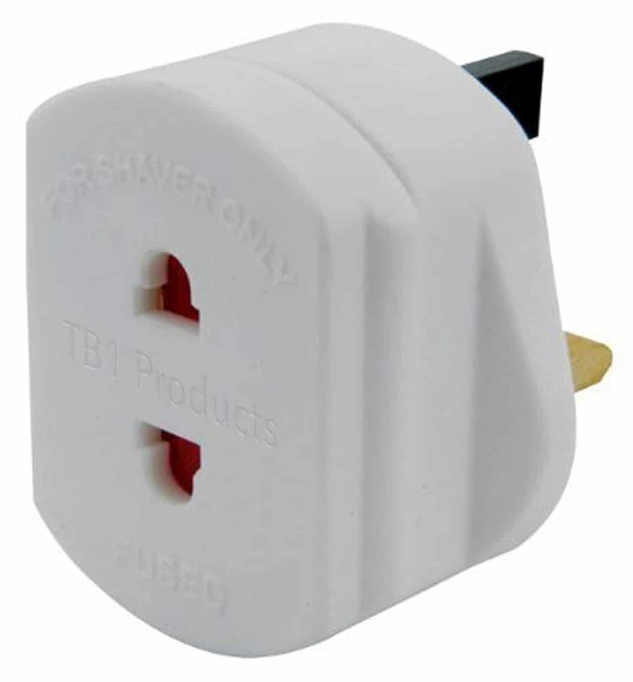 2-pin plug adapter