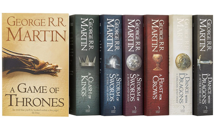 A Song of Ice and Fire Books