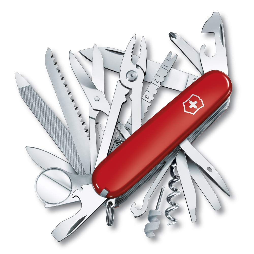 A Swiss army knife is one of the best travel accessories