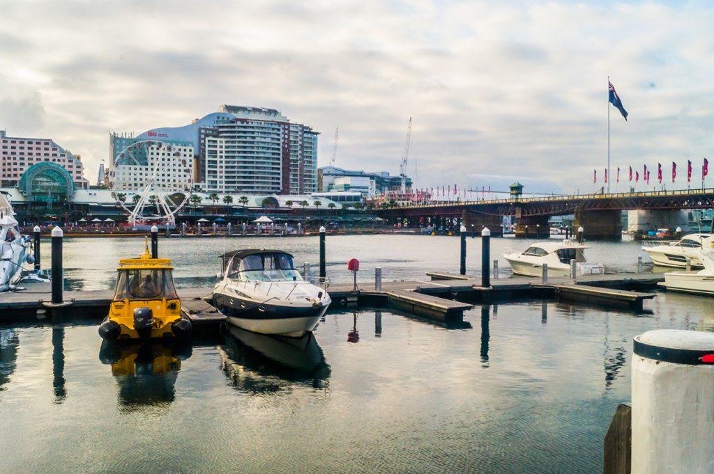 Ferris Wheel at Darling Harbour