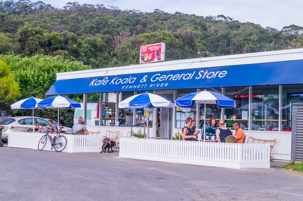 Kafe Koala & General Store at Kennett River